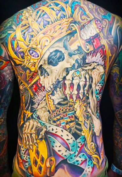 Tattoo Back Piece by Sierra Colt