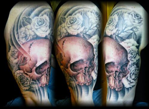 Upper Arm Piece by Tattoo Artist Jay Wheeler