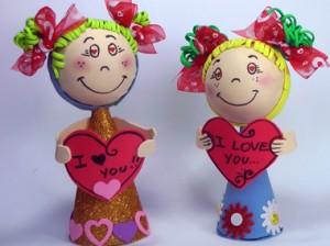 Fofucha san valentin
