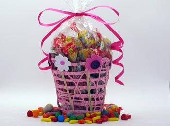Cesta con dulces para regalo Sweet basket