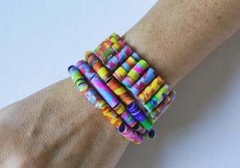 Pulsera y Collar de colores