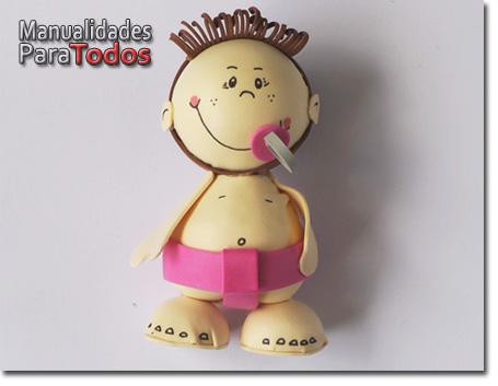 Fofucha Bebe Foamy Baby