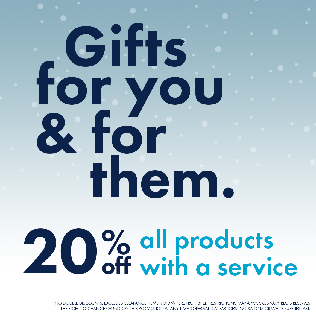 Supercuts - Gifts for you and for them