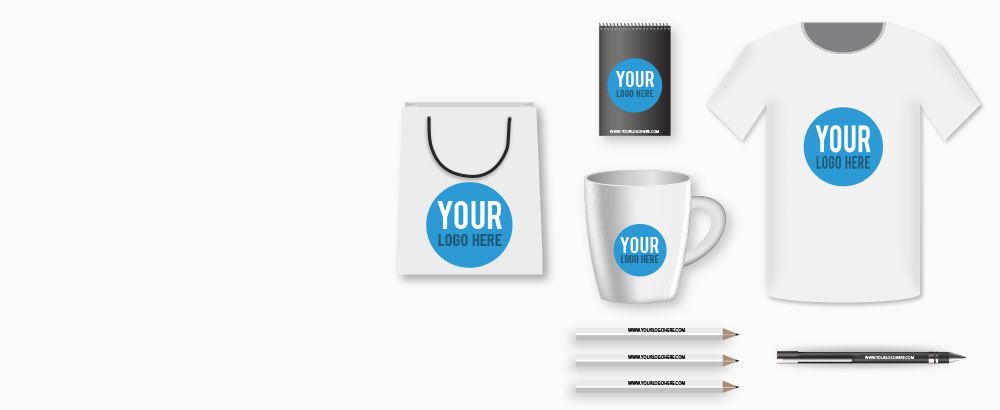 Put Your Logo On Promotional Products & Apparel!