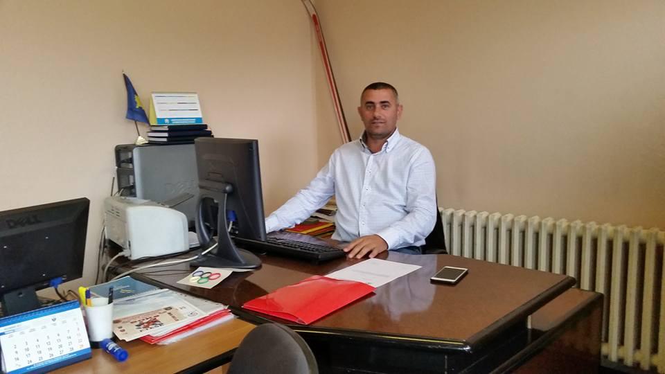 Milaim Kelmendi, Ushtrues Detyre I Kryetarit Të Federatës Skitare Të Kosovës