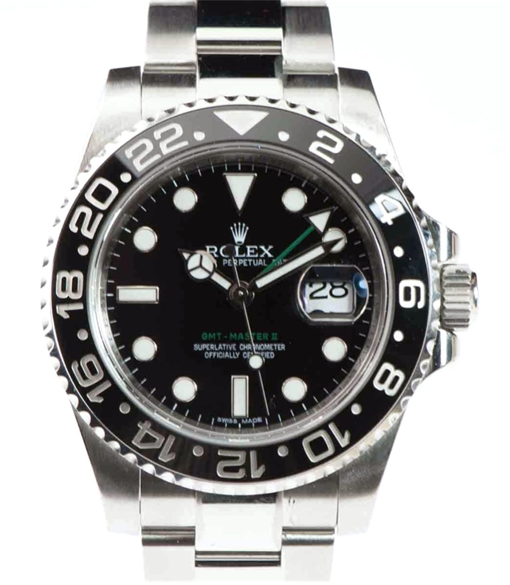 Rolex GMT-Master II Ceramic Bezel Model#116710