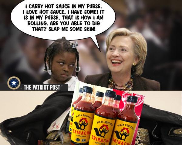 hillary's hot sauce