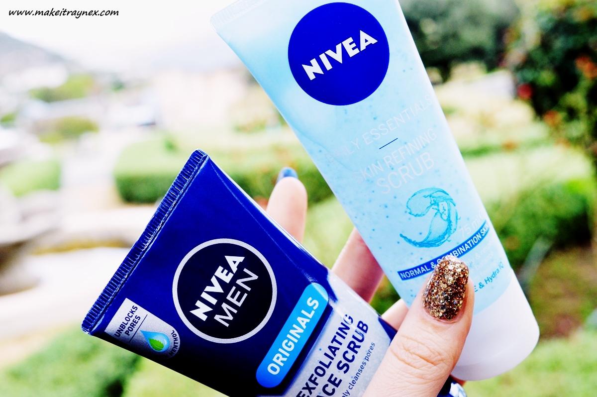 Favourite Nivea Face Scrubs {REVIEW}