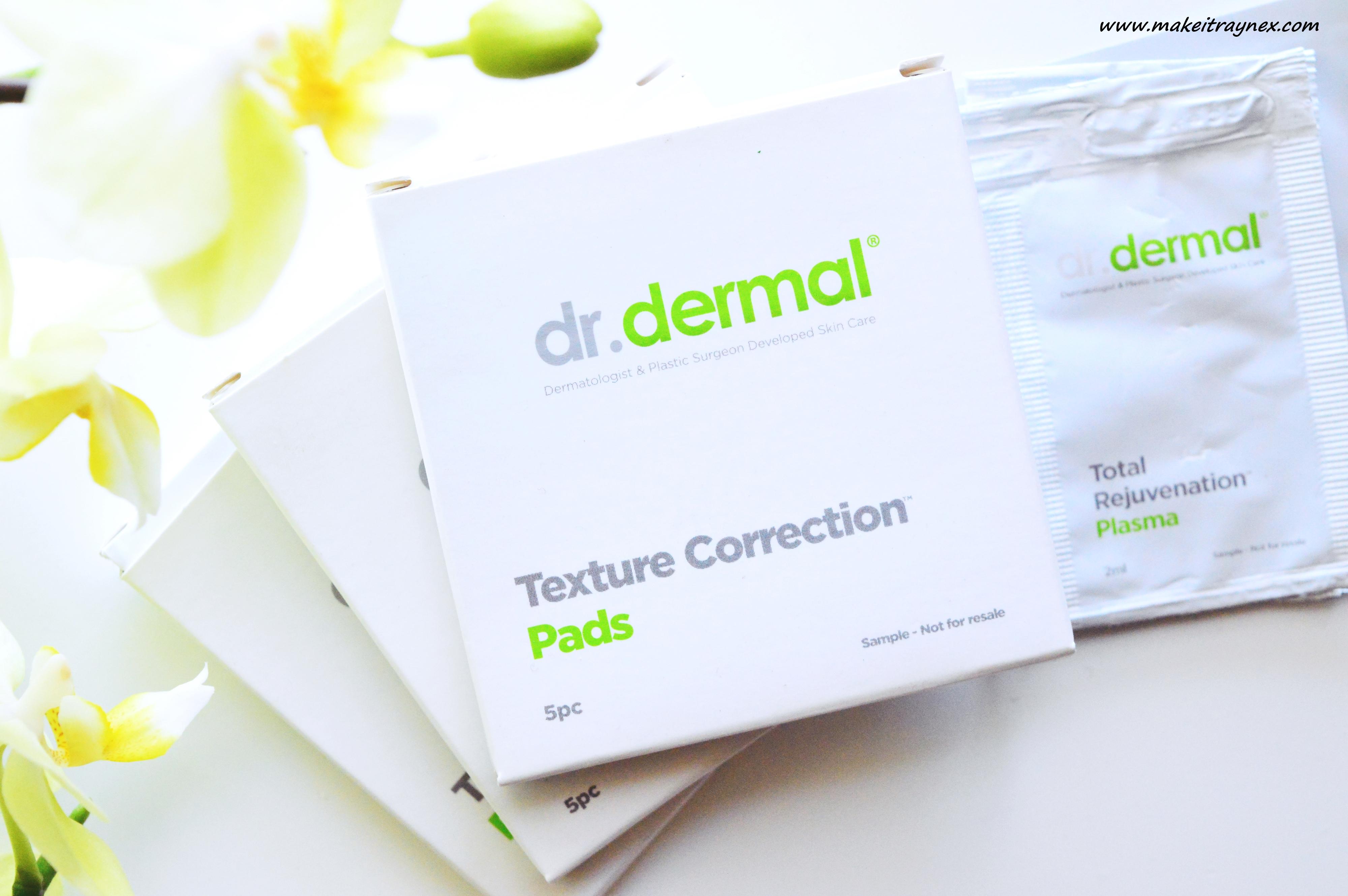 Dr. Dermal Texture Correction Pads & Plasma {REVIEW}