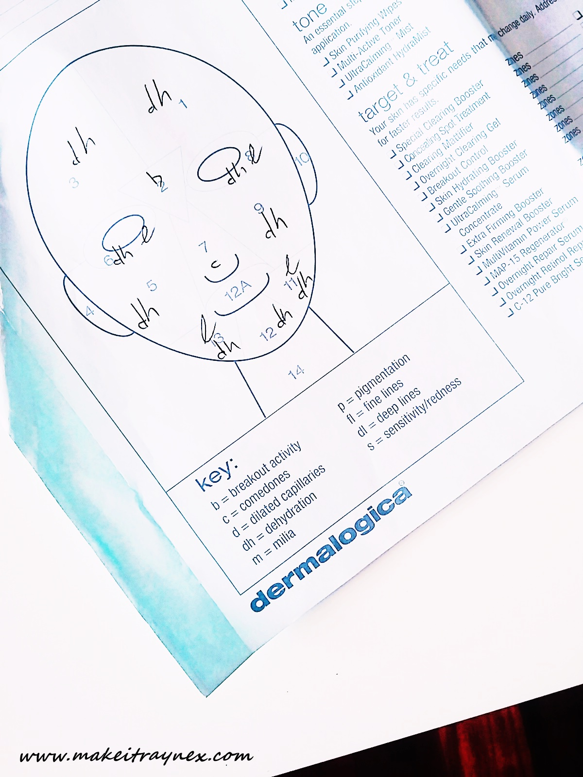 My Face Mapping Session with dermalogica on Wembley – and you can do yours online!