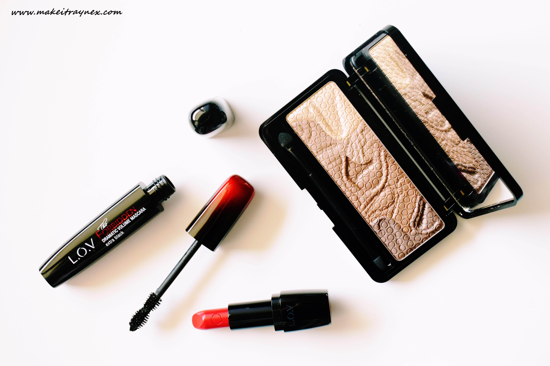 Introducing L.O.V Cosmetics! {REVIEW}