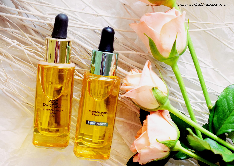 Age Perfect & Rebalancing Facial Oils from L'Oréal {REVIEW}