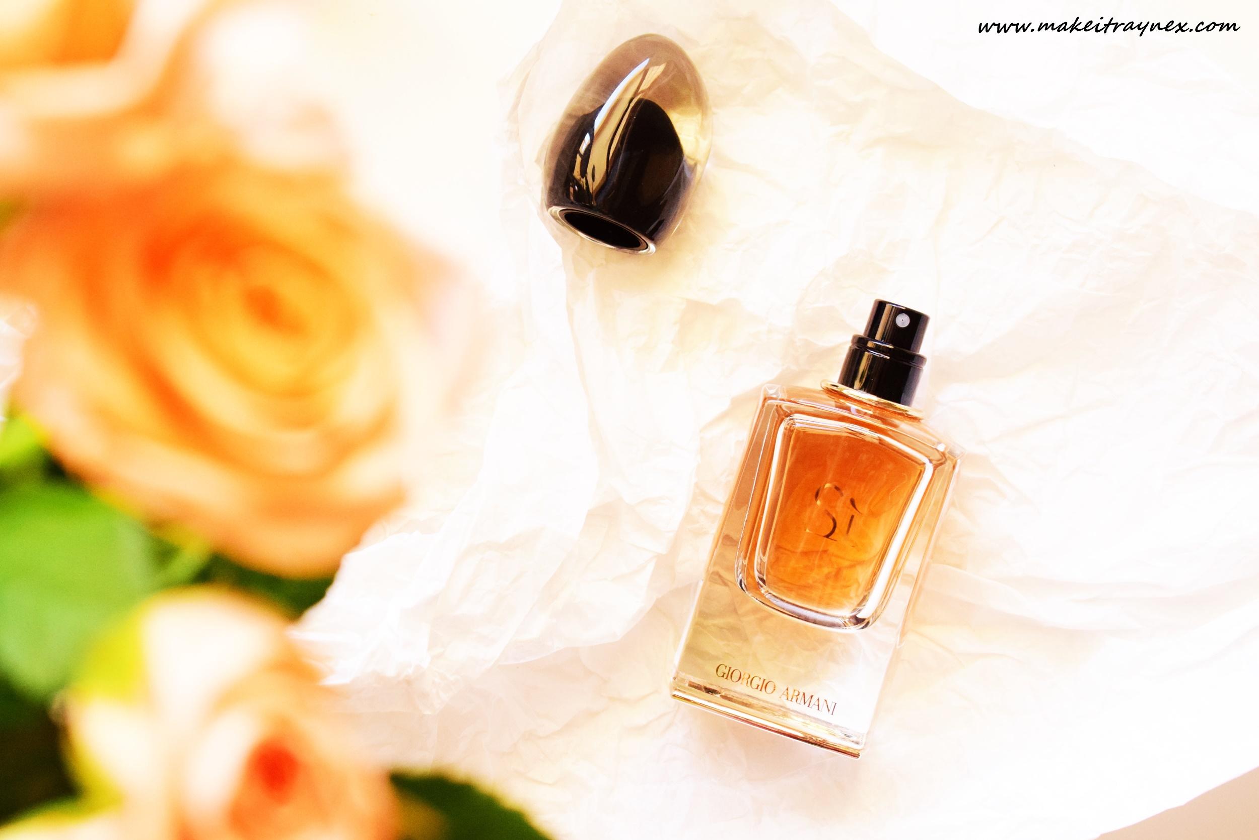 Armani Si Le Parfum from Giorgio Armani {THE FRAGRANCE CHRONICLES}