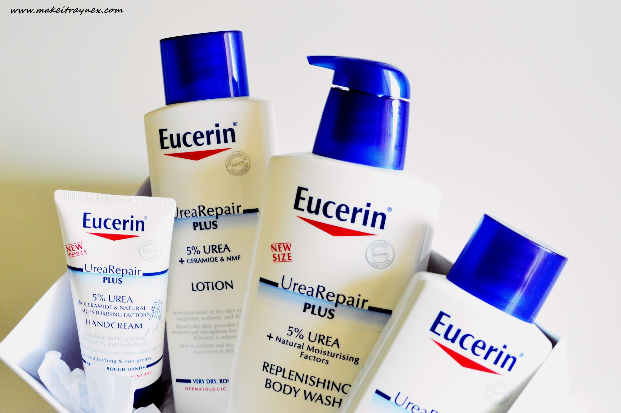 The UreaRepair PLUS range from Eucerin is back with new packaging, just in time for your Winter skin! {REVIEW}