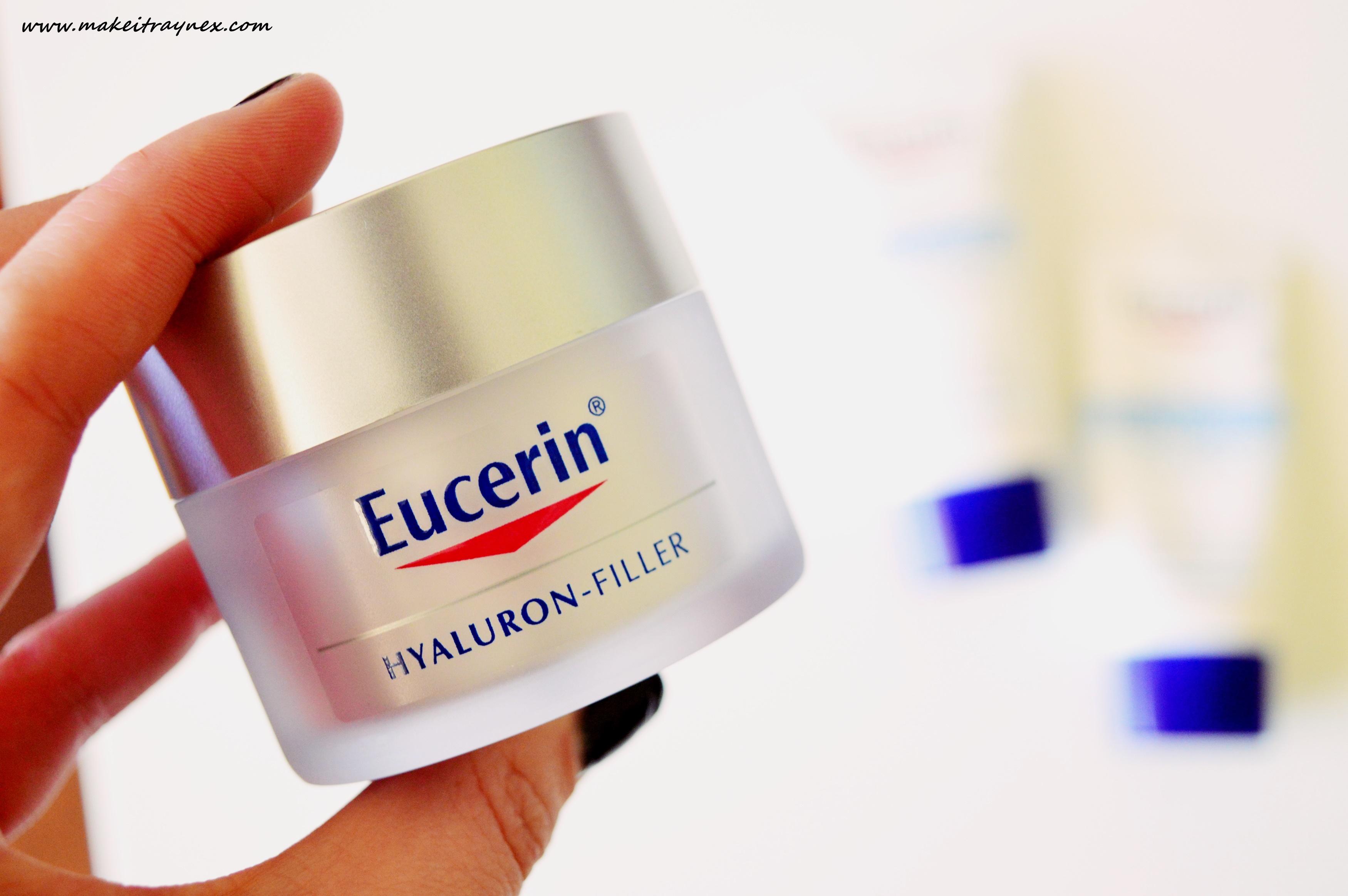 Hyaluron – Filler & Replenishing Face Cream from Eucerin {REVIEW}