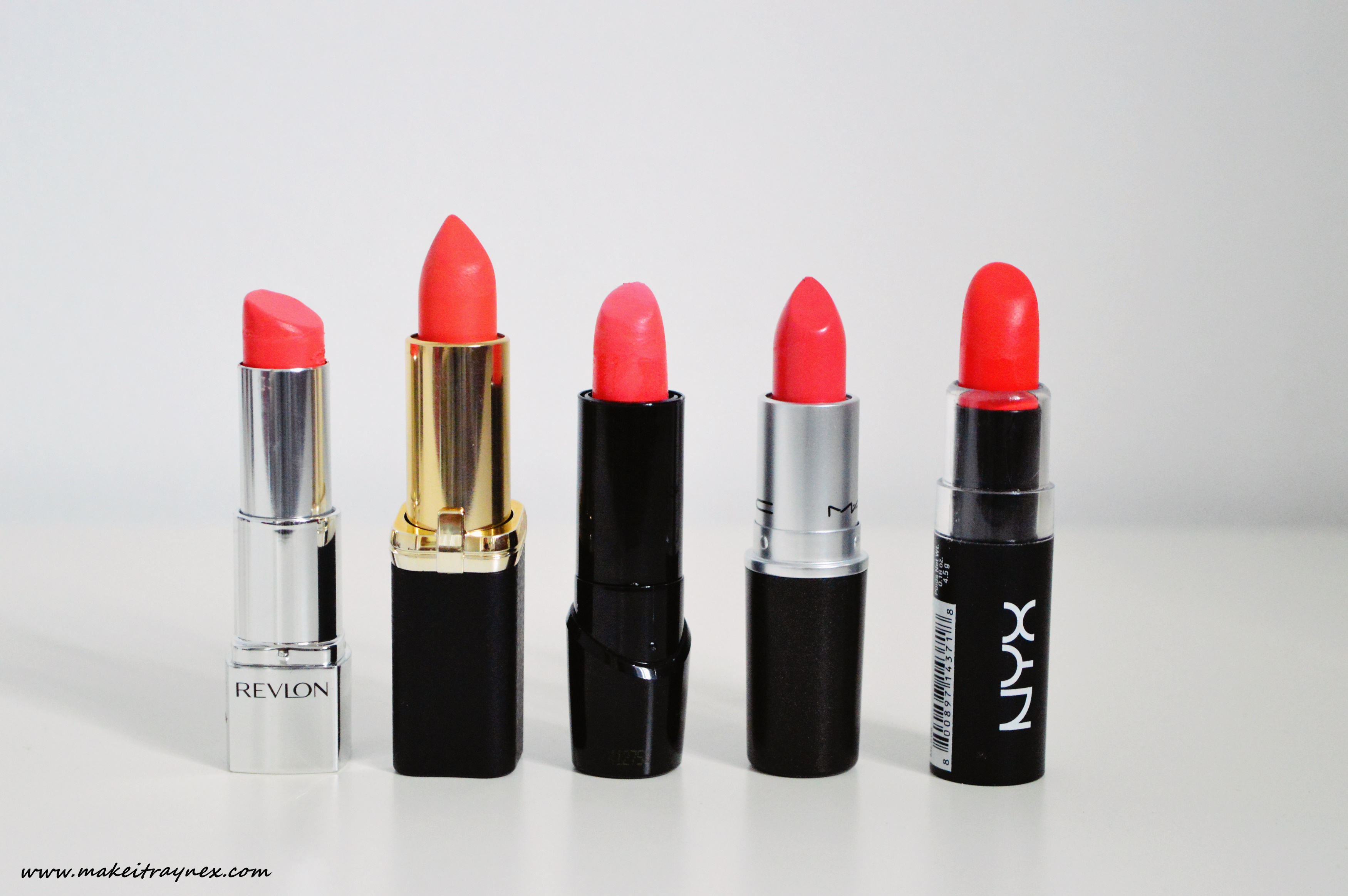 Current favourite morange & coral lipsicks {REVIEW}