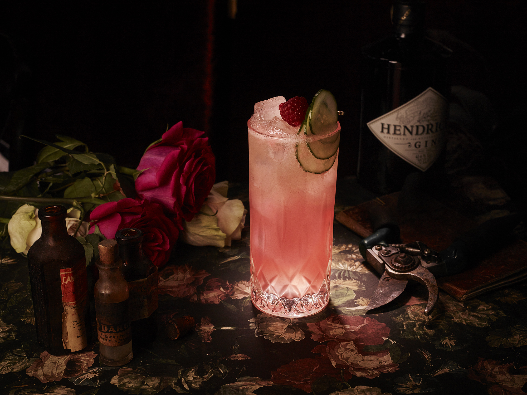 Hendrick's Gin Cupid's Cocktail: Elixirs of Love and Lust {PRESS RELEASE}