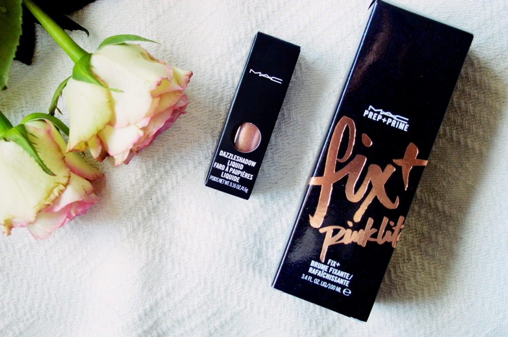 MAC Fix+ Pinklite and Dazzleshadow in Beam Time review {REVIEW}
