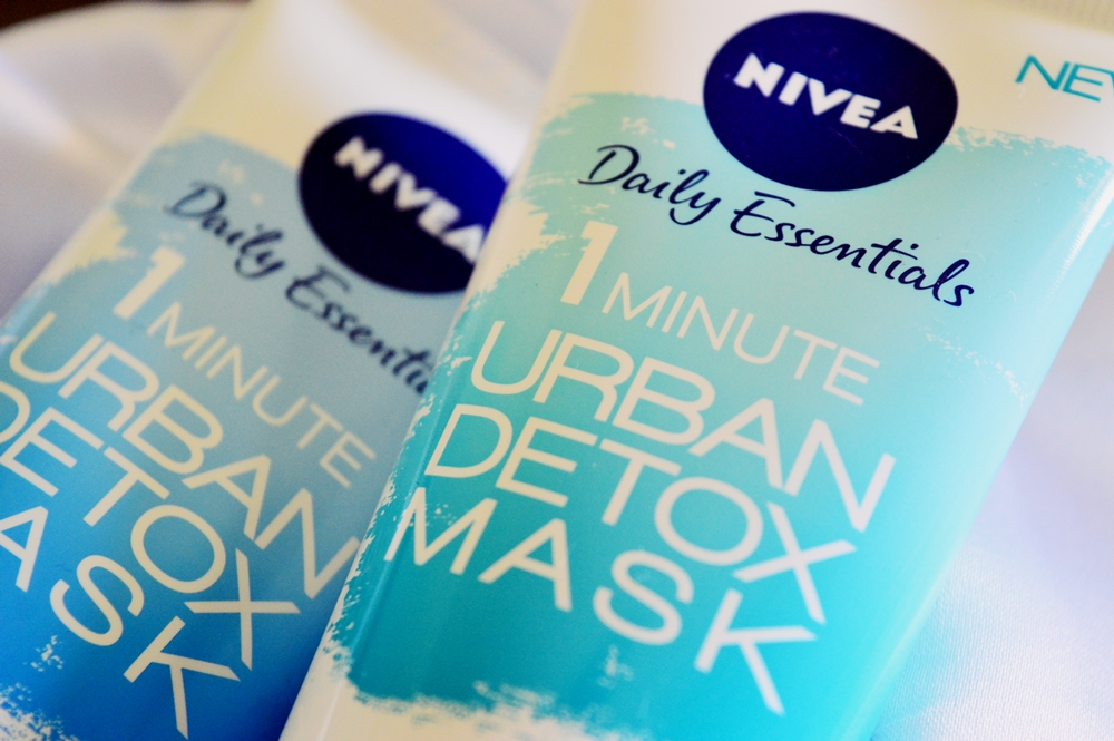 1 Minute Urban Skin Detox Masks from NIVEA {SKINCARE}