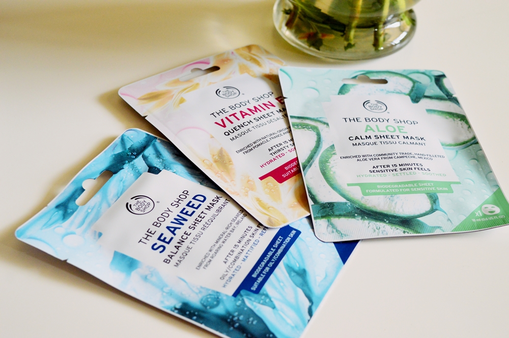 I finally tested out the new Sheet Masks from The Body Shop {SKINCARE}