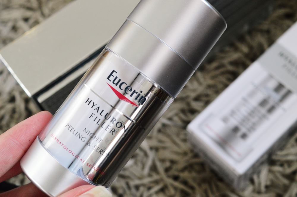 A highly requested review! The Eucerin Hyaluron-Filler Night Peeling & Serum {SKINCARE}