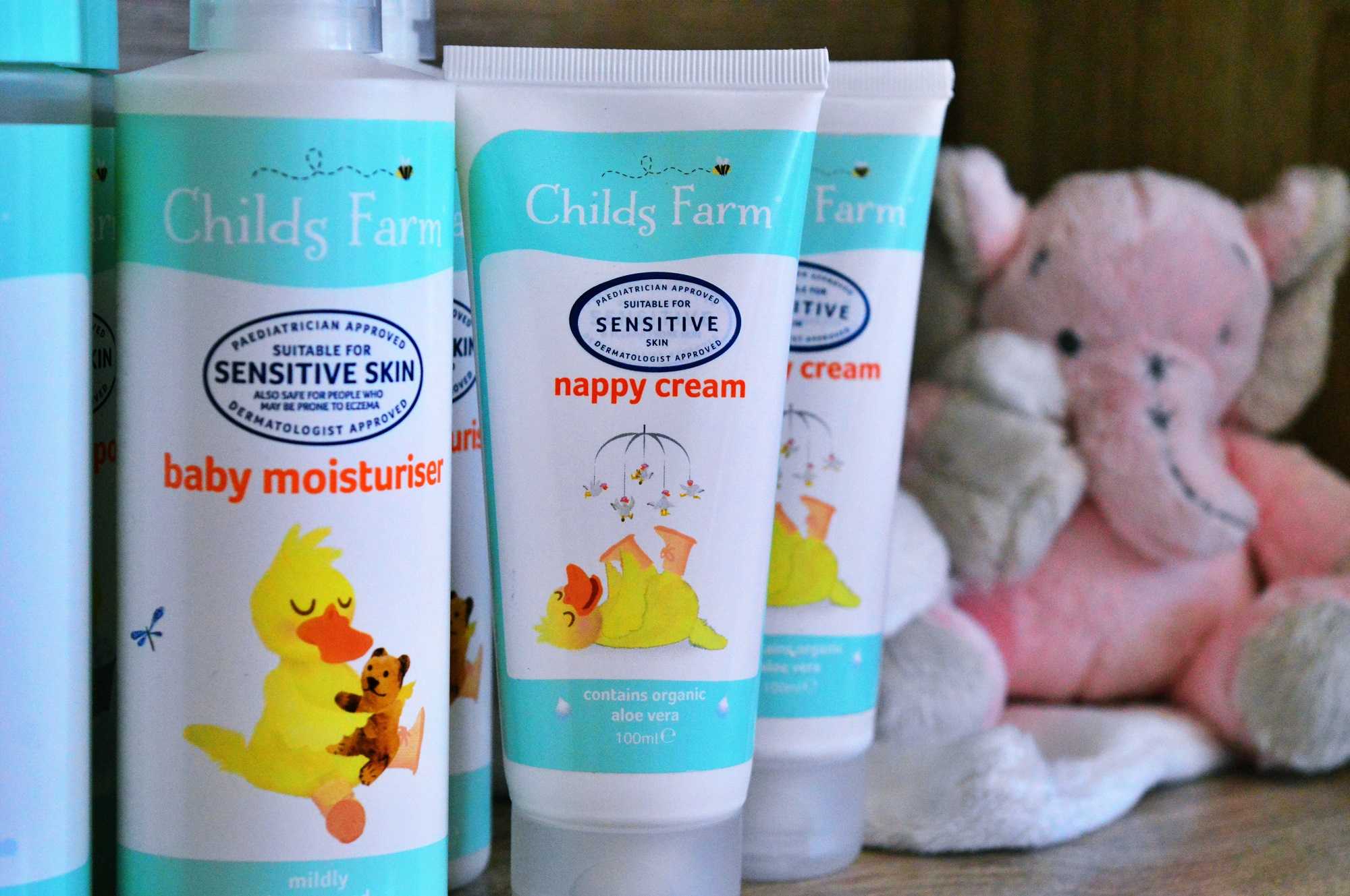 Why I love using Childs Farm on Violet's skin {BABY}