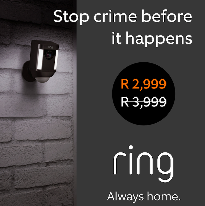 Ring Africa Announces Black Friday Specials on Smart Security Cameras & Doorbells