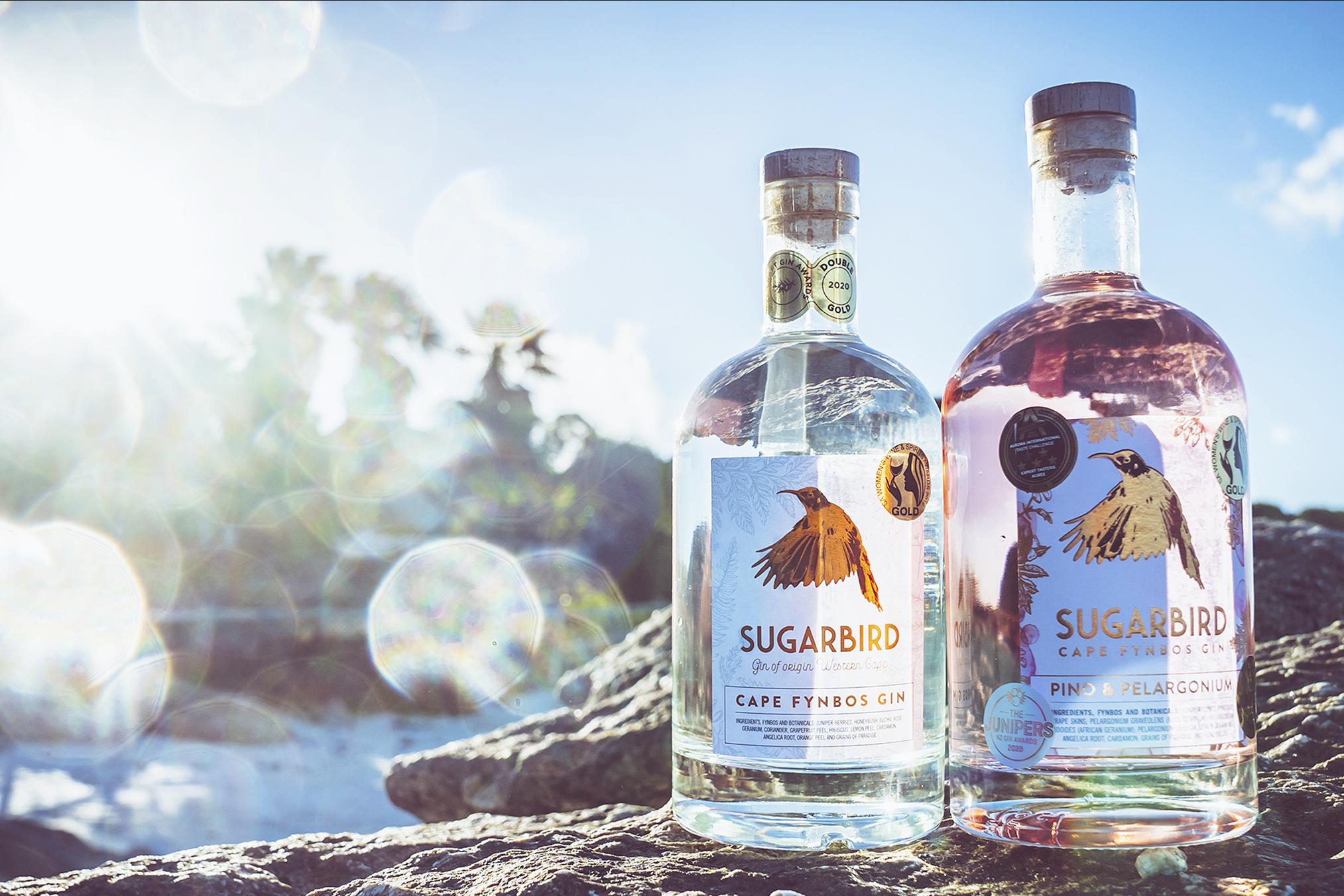 Sugarbird Craft Gin Awarded Best Premium Gin in South Africa