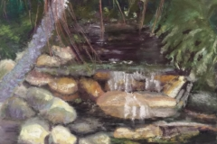 Linda.ptg of stream in jungle