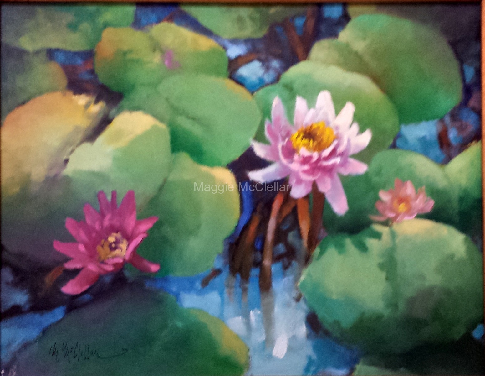 Waterlilies  - Private Collection