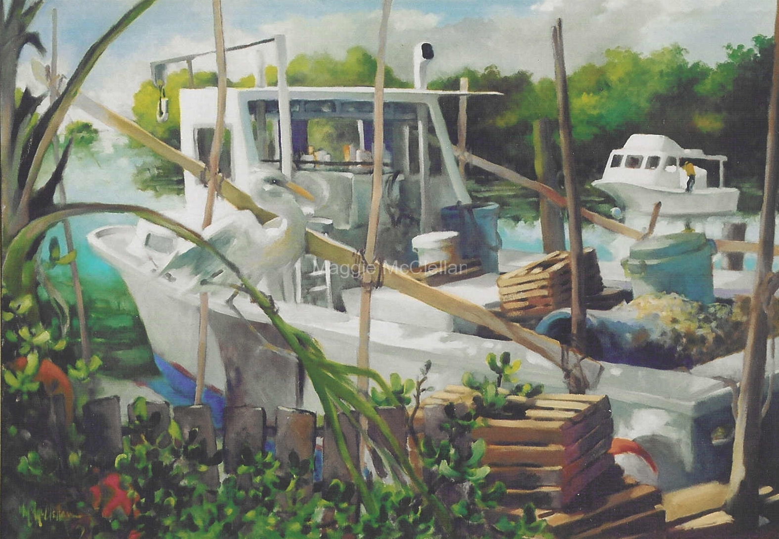 Settling In - Card Sound, Key Largo, FL  - Private Collection