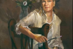Maureen's Portrait - -  Private Collection
