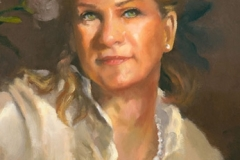 Maureen's Portrait - detail