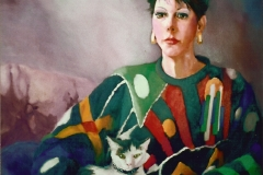 Maggie's Portrait - Private Collection