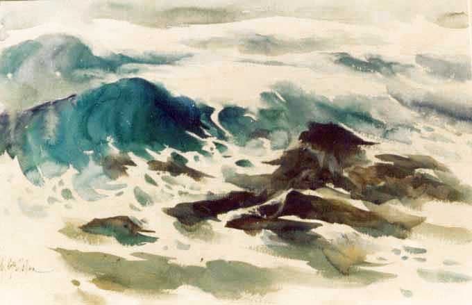 waves-watercolor