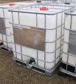 275 Gallon Liquid Storage Poly Tote Tanks