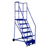 Rolling Ladders, Push Carts, Casters, Dollys,