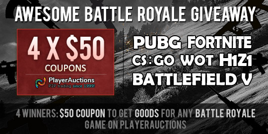 Battle Royale Giveaway