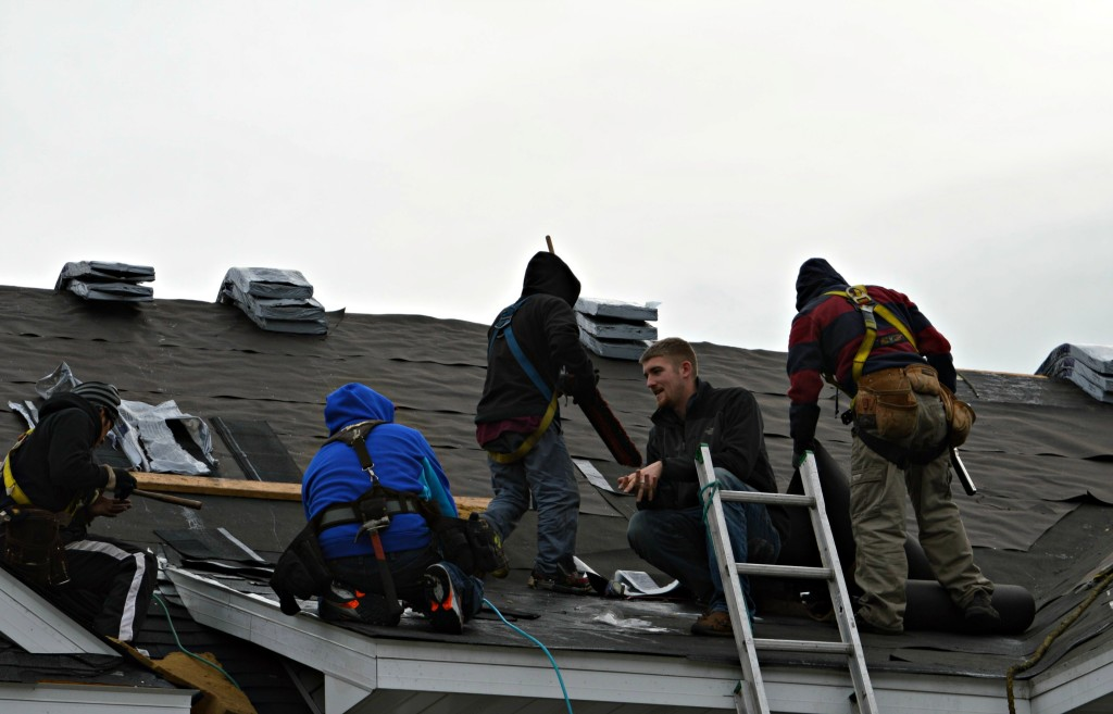 Reroofing with Northface Construction