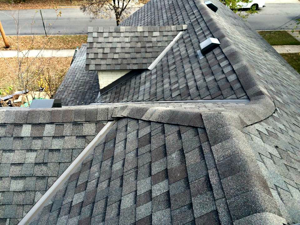 Northface Construction grey roof.