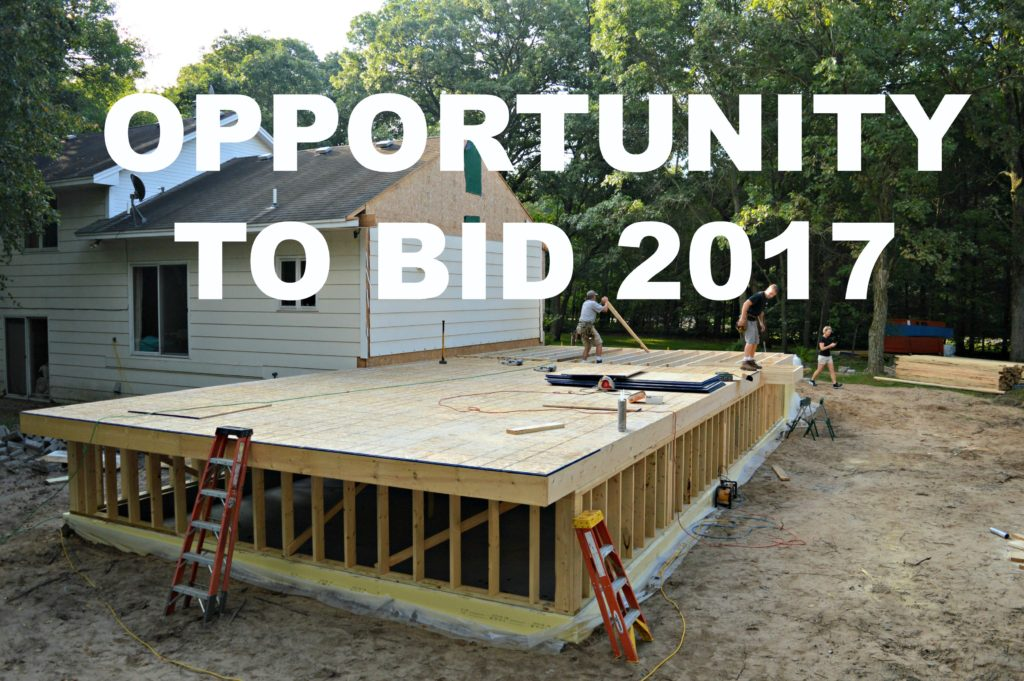 Opportunity to bid Ad