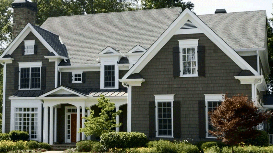 rich colored house as a most popular siding color for 2019 by northface construction