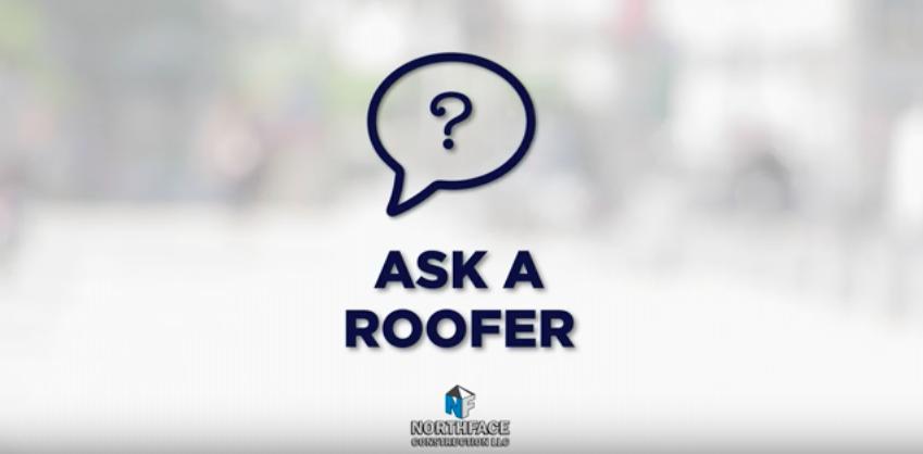 Ask a roofer emblem Northface Construction