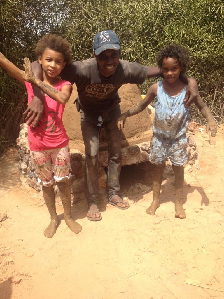 Azadey, Ousmane and Adama