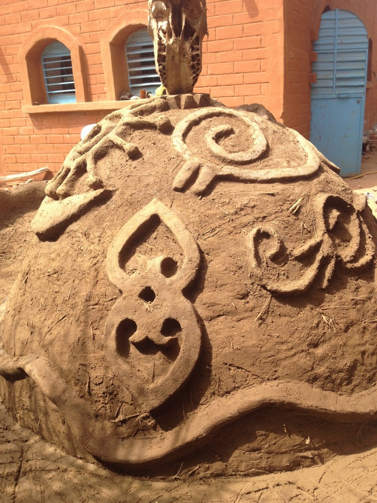 Ghanaian Adinkra symbols for Harmony, Energy and Mother Earth