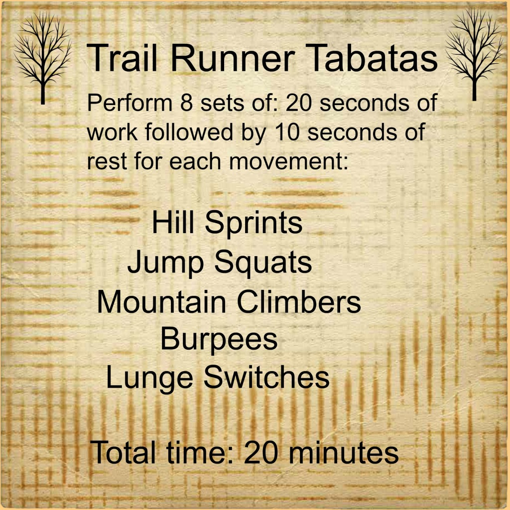 Trail Runner Tabatas