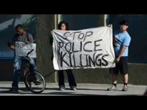 Whose lives - stop police killings