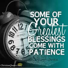 Character Traits of the Spiritual Life: Patience