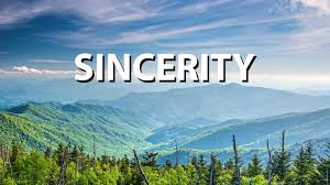 Character Traits of the Spiritual Life: Sincerity, Honesty, Transparancy