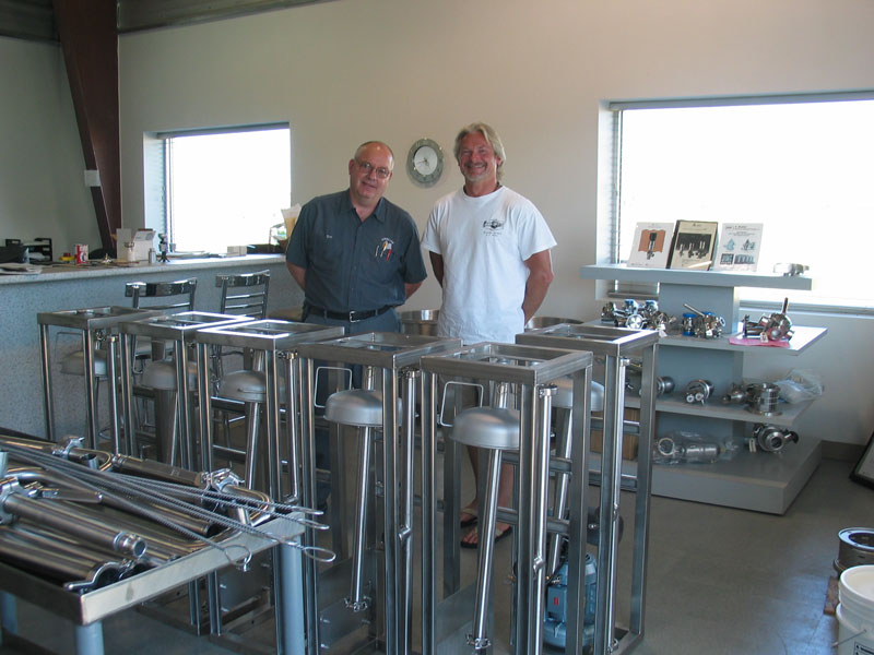 Units fabricated for Greater Earth Organics